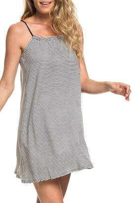 Roxy All About Queens Stripe Minidress