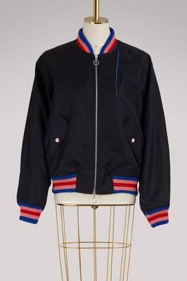Mira Mikati Embroidered bomber jacket