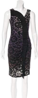 Diane von Furstenberg Ombré Knee-Length Dress