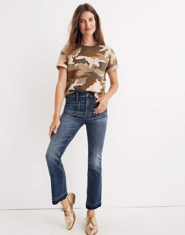 Madewell Tall Cali Demi-Boot Jeans: Patch Pocket Edition