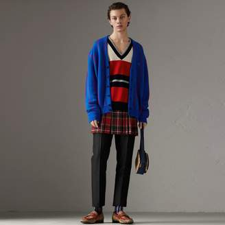 Burberry Reissued Striped Lambswool Sweater