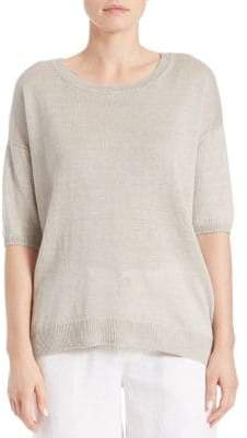 Lord & Taylor Oversized Boxy Pullover