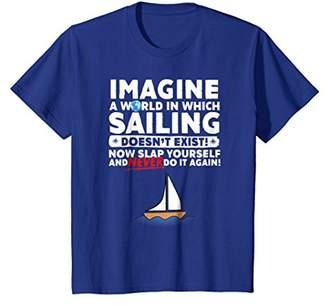 Funny No Sailboats T shirt Now Slap Yourself T Shirt