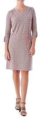 Olsen Mosaic-Print Sheath Dress