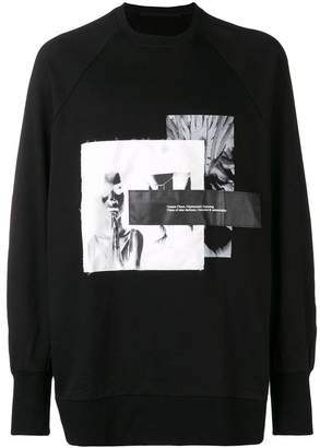 Julius graphic print sweatshirt