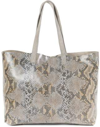 La Redoute COLLECTIONS Snakeskin Effect Leather Handbag