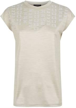 Akris Silk Embellished T-Shirt