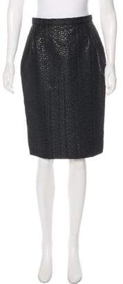 Christian Lacroix Tweed Pencil Skirt