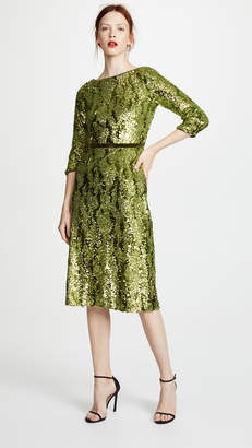 Marchesa Sequin Dress