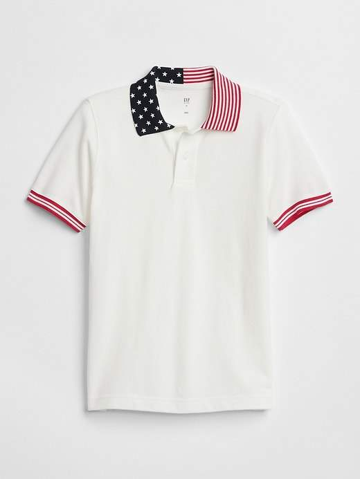 Graphic Polo T-Shirt