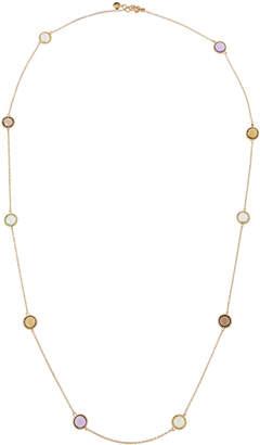 Roberto Coin Ipanema Long 18k Semiprecious Gemstone Station Necklace