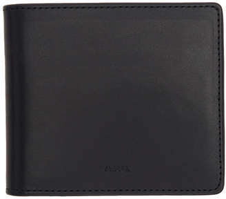 A.P.C. Navy London Bifold Wallet