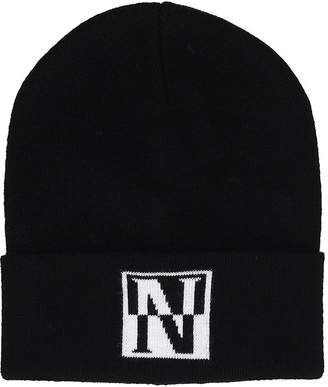 Napapijri Black Wool Hat