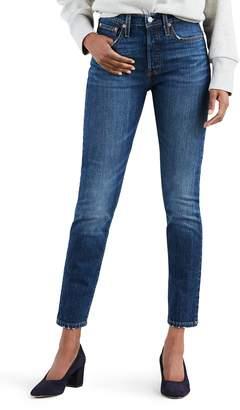 Levi's 501(R) High Waist Ankle Skinny Jeans