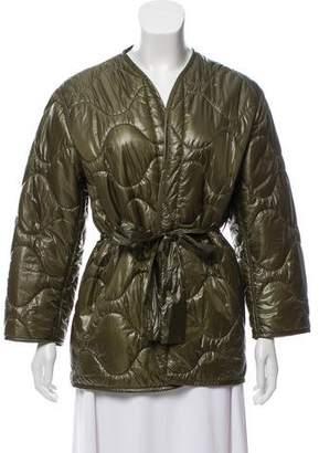 Nili Lotan Lightweight Quilted Jacket