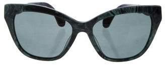 Balenciaga Cat-Eye Tinted Sunglasses
