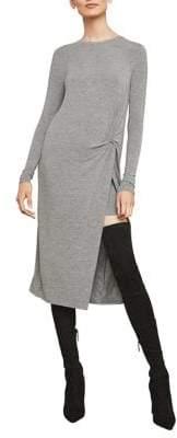 BCBGMAXAZRIA Twist-Front Shift Dress
