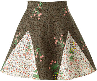 SUPERSWEET x moumi - Never-Wake-Up Berry Rhonda Skirt in Green