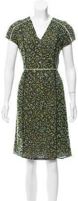 Fendi Structured Lace Dress