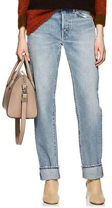 Acne Studios Women's 1997 Straight Jeans - Blue