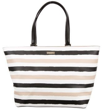 Kate Spade Kate Spade New York Striped Leather Tote