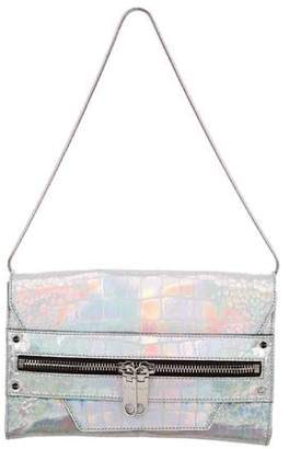 Milly Metallic Silver Clutch w/ Tags