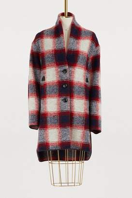 Etoile Isabel Marant Gabrie wool coat