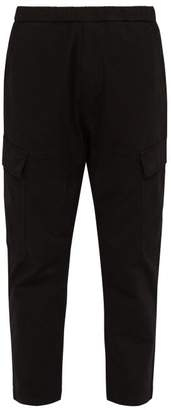 Barena Venezia - Tamai Cotton Blend Straight Leg Cargo Trousers - Mens - Black