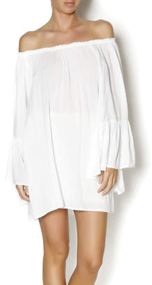 Elan International White Boho Top