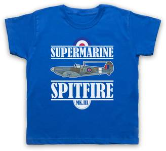 Spitfire My Icon Big Boys' Supermarine MK III T-Shirt