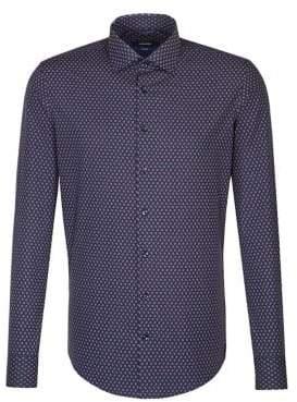 Seidensticker Tailored Paisley Dress Shirt