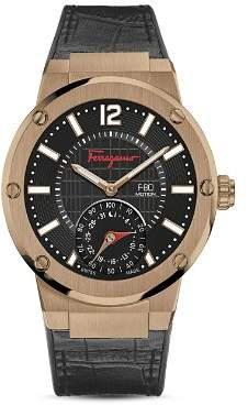 Salvatore Ferragamo F-80 Motion Smartwatch, 44mm