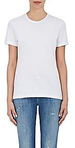 Barneys New York Women's Pima Cotton Crewneck T-Shirt - White