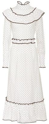 Ganni Bijou printed cotton dress