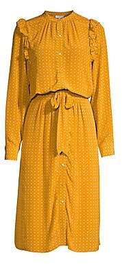 Joie Women's Redson Polka Dot Dress