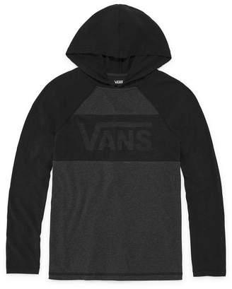 Vans Knit Hoodie-Big Kid Boys