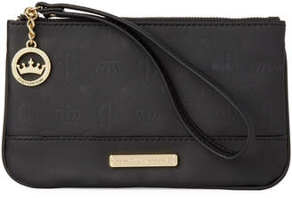 Juicy Couture Black & Gold-Tone Shine Dynasty Wristlet Clutch