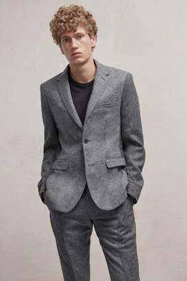 French Connenction Patchwork Wool Jacket