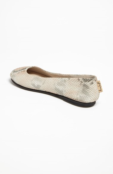 French Sole 'Click' Flat