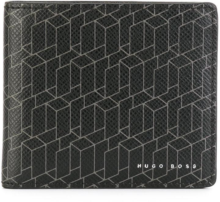 Hugo BossBoss Hugo Boss linear print cardholder