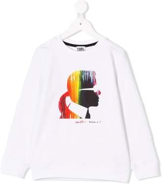 Karl Lagerfeld graphic print sweatshirt