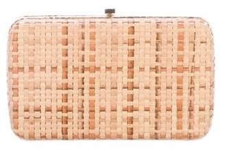 Lambertson Truex Woven Box Clutch