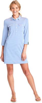 Vineyard Vines UPF Vineyard Feeder Stripe Shirt Dress