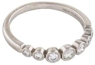 Tiffany & Co. Platinum Diamond Jazz Graduated Band
