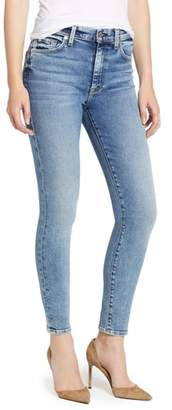 7 For All Mankind Luxe Vintage High Waist Ankle Skinny Jeans