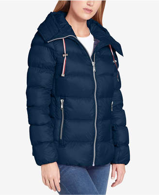 Tommy Hilfiger Hooded Packable Down Coat, Created for Macy's