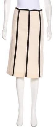 KORS Wool Knee-Length Skirt