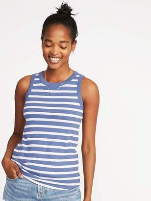 Old Navy Slim-Fit High-Neck Rib-Knit Tank for Women