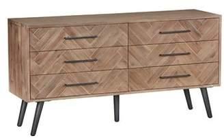Union Rustic Toro 6 Drawer Double Dresser