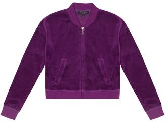 Juicy Couture Velour Pansy Party Westwood Jacket for Girls